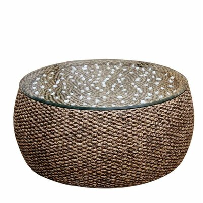 Onshuntay Round Coffee Table Size: 19 H x 38 W x 38 D