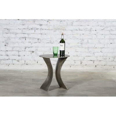 Alcyone Iron Hourglass End Table