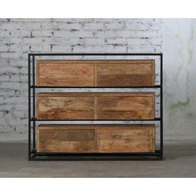 Cesar 6 Drawer Double Dresser