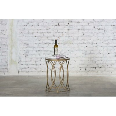 Hermina Marble End Table