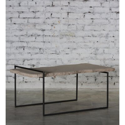 Sai Iron Sandstone Top Coffee Table