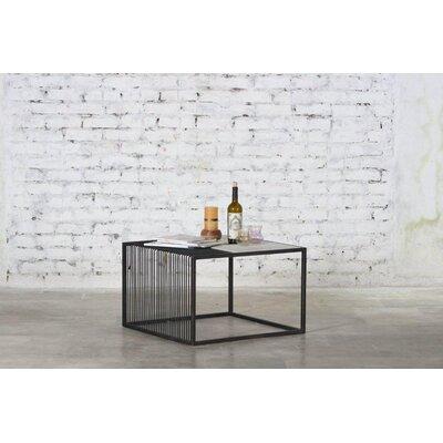 Reyansh Iron Marble Top Coffee Table