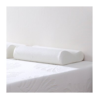Contour Wave Botanic Origin Memory Foam Queen Pillow
