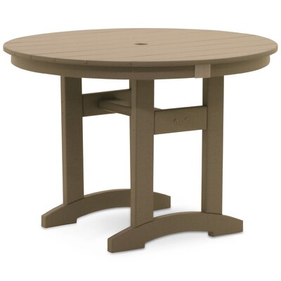 Paulsboro Round Dining Table Color: Weathered Wood