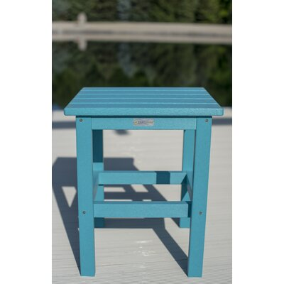 Parkside Square Side Table Color: Aruba
