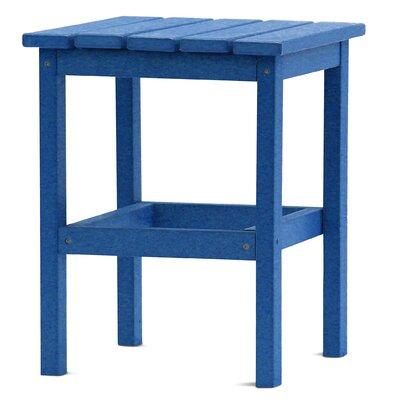 Parkside Square Side Table Color: Royal Blue