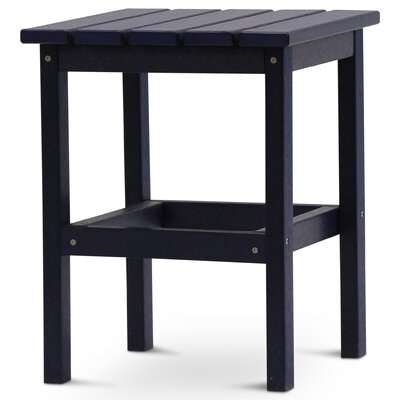 Parkside Square Side Table Color: Navy