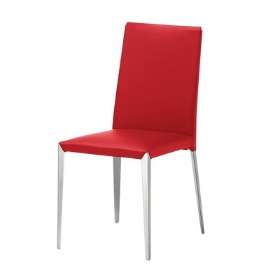 Air Side Chair (Set of 2) Upholstery: Red