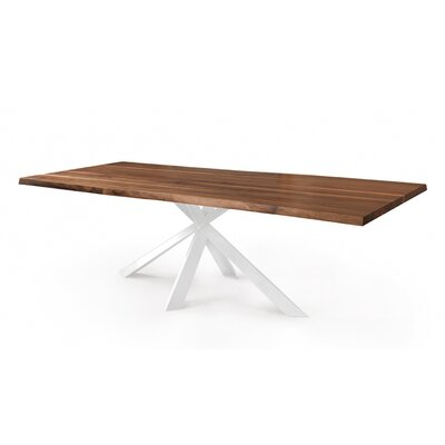 Anurima Dining Table Base Color: White, Size: 39 H x 87 W x 30 D