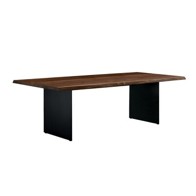 Grasmere Dining Table Base Color: Gray, Size: 39 H x 87 W x 30 D