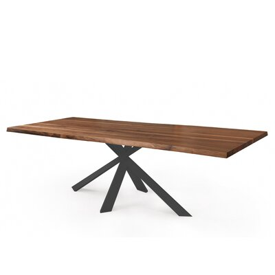 Anurima Dining Table Base Color: Gray, Size: 39 H x 79 W x 30 D