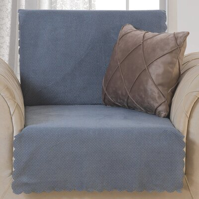 Pet Protector T-Cushion Armchair Slipcover Upholstery: Smoke