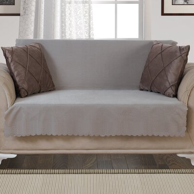 Pet Protector T-Cushion Loveseat Slipcover Upholstery: Light Taupe