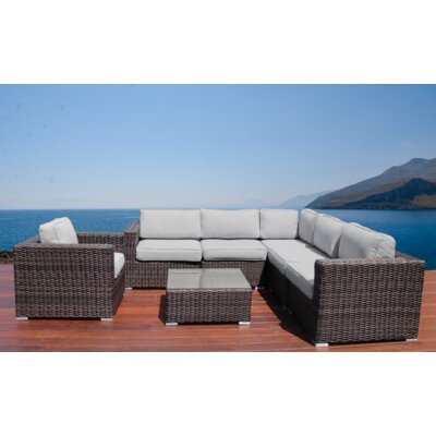 Whitmer 7 Piece Conversation Set with Cushions
