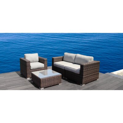 Whitmer 4 Piece Sofa Set