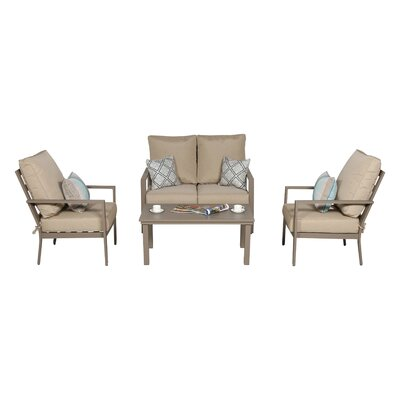 Amboy 4 Piece Conversation Set