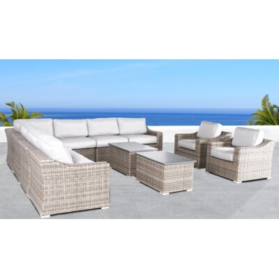 Huddleson 11 Piece Conversation Set with Cushions