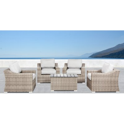 Huddleson 5 Piece Sofa Set with Cushions