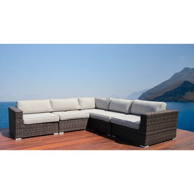 Nolen Resort Grade Sectional with Cushions