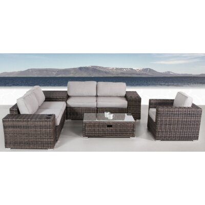 Choose Rattan Sectional Set Product Photo