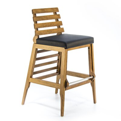 Faust 30 Bar Stool Finish: Black