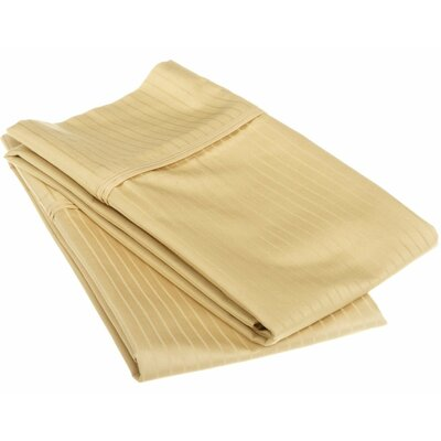 Patric Pillow Case Size: Standard, Color: Gold