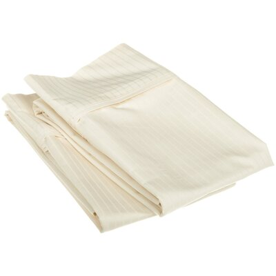 Patric Pillow Case Color: Ivory, Size: Standard