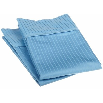 Patric Pillow Case Size: Standard, Color: Medium Blue
