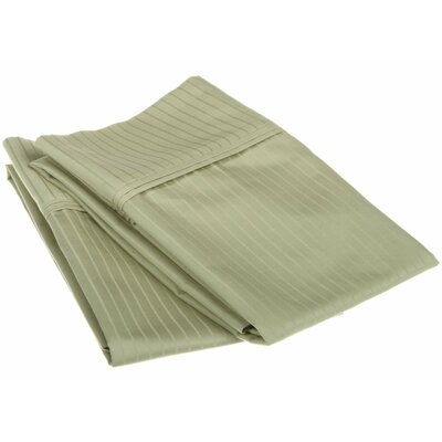 Patric Pillow Case Color: Sage, Size: Standard