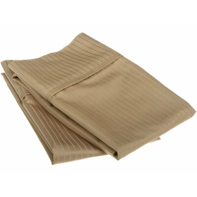 Patric Pillow Case Color: Taupe, Size: Standard