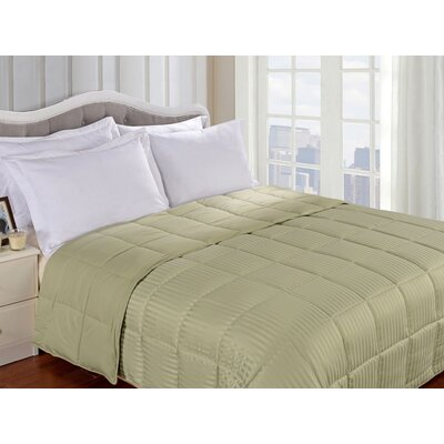 Simple Luxury All-Season Down Alternative Reversible Microfiber Blanket - Size: Full / Queen, Color: Sage at Sears.com