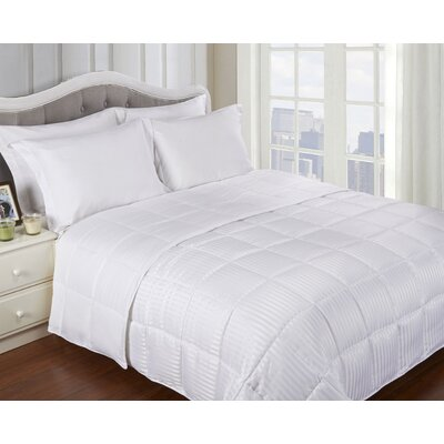 Simple Luxury All-Season Down Alternative Reversible Microfiber Blanket - Color: White, Size: Full / Queen at Sears.com