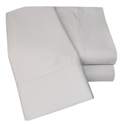Uinta 1000 Thread Count Wrinkle Resistant Cotton Blend Sheet Set Color: Stone, Size: Full