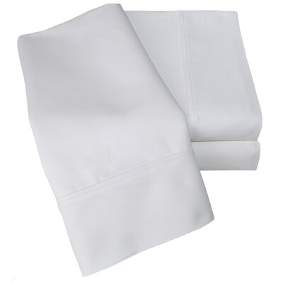 Uinta 1000 Thread Count Wrinkle Resistant Cotton Blend Sheet Set Color: White, Size: Split King