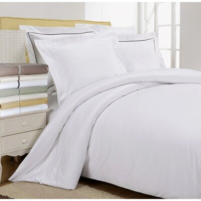 Tipton 800 Thread Count Egyptian-Quality Cotton Solid Duvet Cover Set