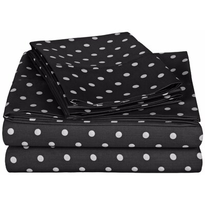 Simple Luxury Impressions 600 Thread Count Sheet Set - Color: Black, Size: Queen at Sears.com
