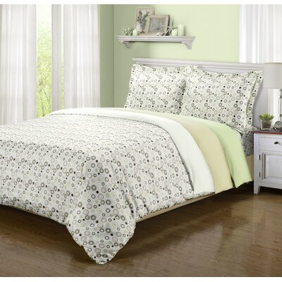Impressions 1800 Spring Circles Duvet Collection