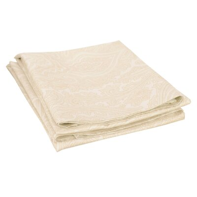 Impressions 600 Thread Count Pillowcase Color: Ivory