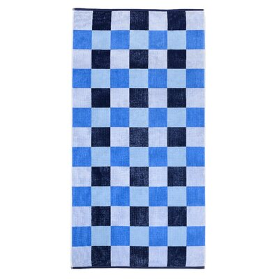 Cool Check Beach Towel