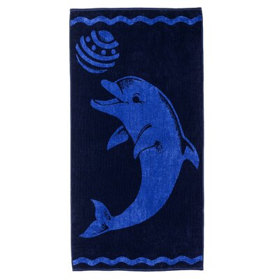 Playing Dolphin Beach Towel