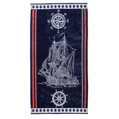 Ship Beach Towel
