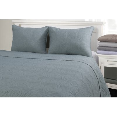 Channing Reversible Quilt Set Size: Full/Queen, Color: Seafoam