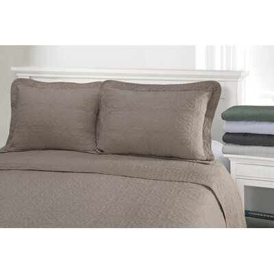 Corrington 3 Piece Reversible Quilt Set