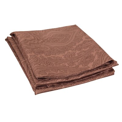 Impressions 600 Thread Count Pillowcase Color: Chocolate
