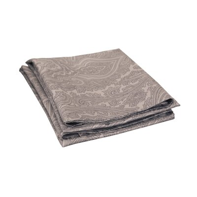 Impressions 600 Thread Count Pillowcase Color: Dark Grey
