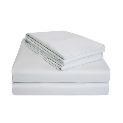 900 Thread Count 100% Cotton Sheet Set Size: King, Color: White