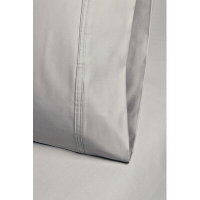 Cotton 1000 Thread Count Solid Pillowcase Color: Tan, Size: Standard