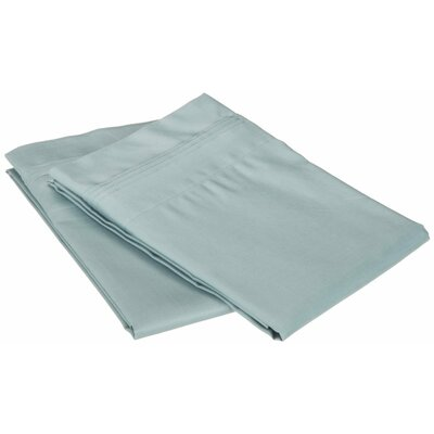 Superior Pillowcase Color: Teal, Size: Standard