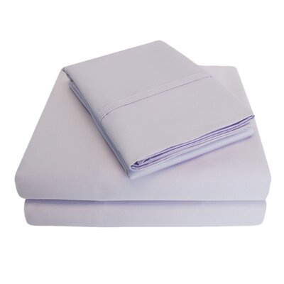 6 Piece 1000 Thread Count 100% Cotton Sheet Set Color: Lilac, Size: Queen