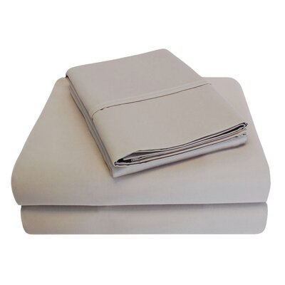 6 Piece 1000 Thread Count 100% Cotton Sheet Set Size: King, Color: Tan